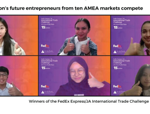 Nurturing the Next Generation of Entrepreneurs: Winners of the 15th Annual FedEx Express / JA International Trade Challenge Announced